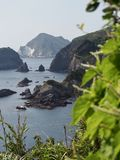 Picturesque Coast of Izu Peninsula royalty free stock photography
