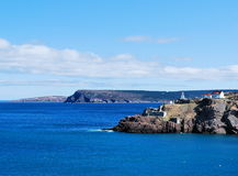 Picturesque coastline royalty free stock photography