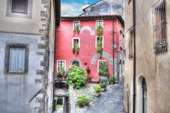 Picturesque corner in Barga Royalty Free Stock Photography