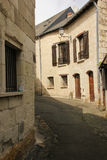 Picturesque corner in the old town. Chinon. France Stock Photography