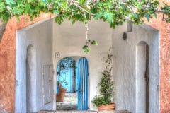 Picturesque corner in Poltu Quatu Stock Photography