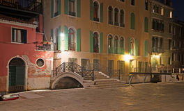 Picturesque corner in Venice Stock Image