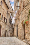 Picturesque corner in Volterra, Tuscany, Italy Royalty Free Stock Photos