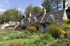 Picturesque Cottages, Bibury, Cotswolds, UK. Stock Images