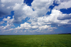 Picturesque country landscape Royalty Free Stock Photos