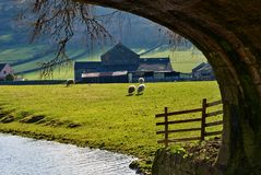 Picturesque countryside farm Stock Image
