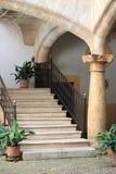 Picturesque courtyard in Palma de Mallorca Stock Photo