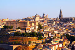 Picturesque day view of Toledo Royalty Free Stock Photography
