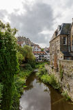 Picturesque Dean Village in Edinburgh, Scotland Stock Photos