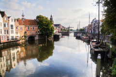 Picturesque Delfshaven Royalty Free Stock Image