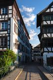 Picturesque district Petite. France in Strasbourg. France Stock Image