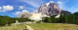 Picturesque Dolomites  landscape, Italy Stock Images