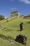 Picturesque Dubuc castle in Martinique Stock Image