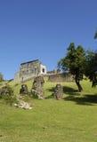 Picturesque Dubuc castle in Martinique Stock Photos