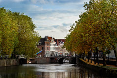 Picturesque dutch city utrecht Stock Photos
