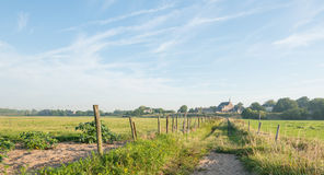 Picturesque Dutch rural landscape Royalty Free Stock Photos