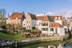 Picturesque Dutch village Royalty Free Stock Images