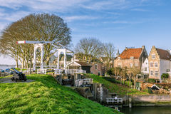 Picturesque Dutch village Royalty Free Stock Photo