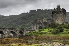 The picturesque Eilean Donan Castle in Scotland Royalty Free Stock Photos