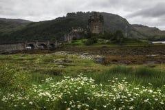 The picturesque Eilean Donan Castle, Scotland Royalty Free Stock Photos