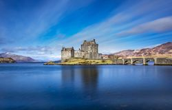 Beautiful Castle landscape Stock Photos