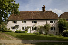 Picturesque English cottage. Scenic view of picturesque English cottage in countryside, Selborne village, Hampshire, England Royalty Free Stock Photography