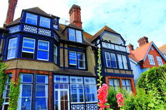 Picturesque English houses Royalty Free Stock Photography