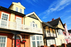 Picturesque English houses Royalty Free Stock Image