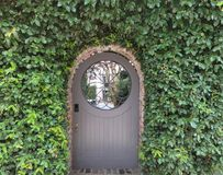 Picturesque Entrance to Courtyard stock image