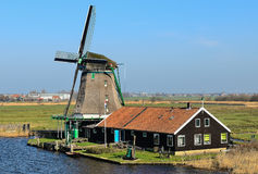 Picturesque existing mill Royalty Free Stock Image