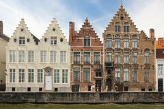 Picturesque Facades . Bruges. Belgium Royalty Free Stock Photo