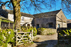 Picturesque Farmyard And Barn Royalty Free Stock Image