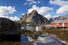 Picturesque fishing town Royalty Free Stock Photos
