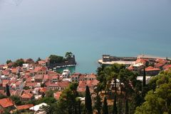 Picturesque fishing village in the Mediterranean 2 Royalty Free Stock Photos