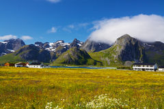 Scenic Norway Royalty Free Stock Image