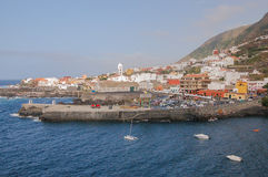 Picturesque Garachico town. Stock Photo