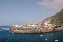 Picturesque Garachico town on tenerife island. Royalty Free Stock Image