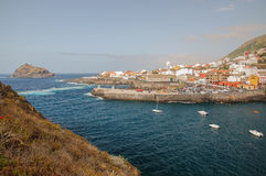 Picturesque Garachico town on tenerife island. Stock Images