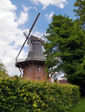 Picturesque German windmill Royalty Free Stock Photo