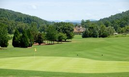 Picturesque golf course Stock Photography