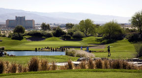 Picturesque Golf Course Stock Image