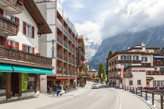 Grindelwald - Switzerland. Jungfrau, panorama. Royalty Free Stock Image