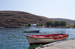 Picturesque gulf in Kythnos island, Cyclades, Greece Royalty Free Stock Photography