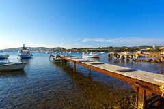 Picturesque harbor Stock Photo