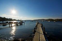 Picturesque harbor Stock Image