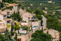 Picturesque hill top village of Gordes in Provence, France Stock Image