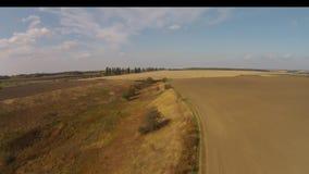 Picturesque hills stock video