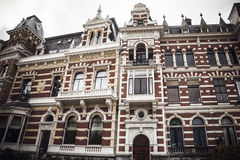 Picturesque historical building in Rotterdam, Netherlands. Stock Royalty Free Stock Photography