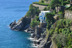 Picturesque Home on the Amalfi Coast in Italy Royalty Free Stock Image