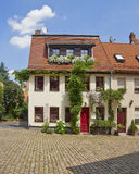 Picturesque house facades,  Germany Royalty Free Stock Photography
